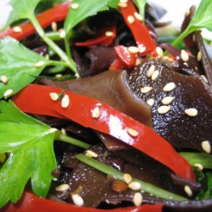Chilled Sweet & Sour Black Fungus