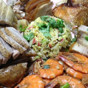 Mixed Meat & Seafood Platter