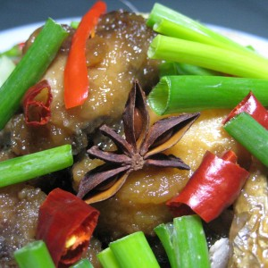 Braised Star-Anise Fish Head
