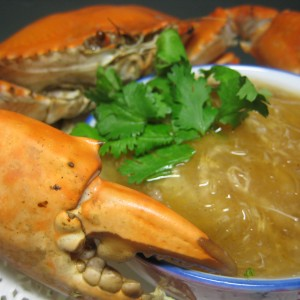 Fresh-Crab Sharks-Fin Soup